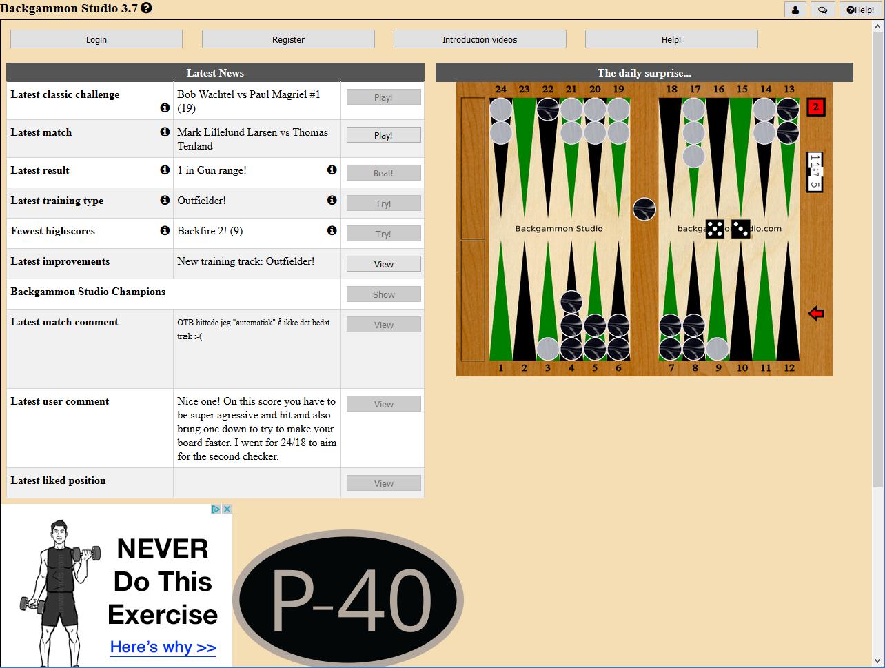 backgammon strategy